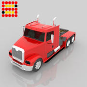 18 Wheeler Freightliner 3d model