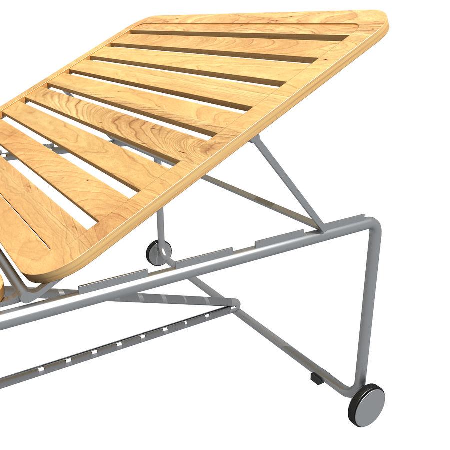 沙滩椅 royalty-free 3d model - Preview no. 4