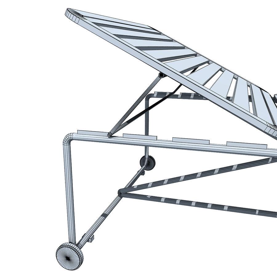 沙滩椅 royalty-free 3d model - Preview no. 7