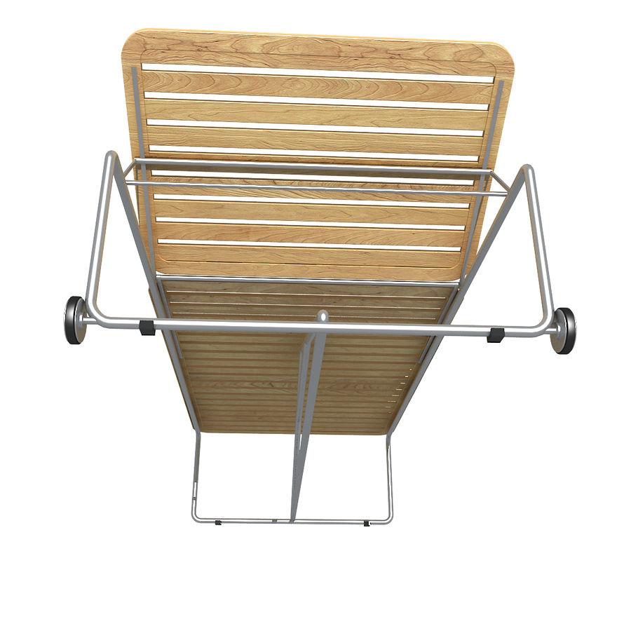 沙滩椅 royalty-free 3d model - Preview no. 3