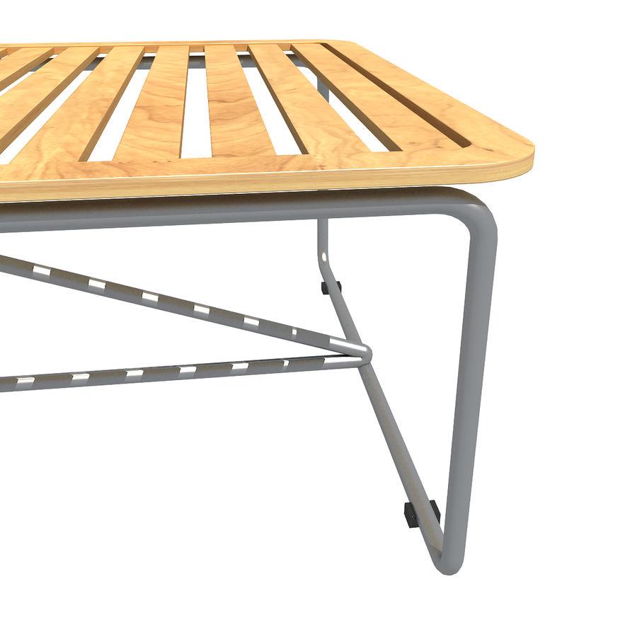 沙滩椅 royalty-free 3d model - Preview no. 5