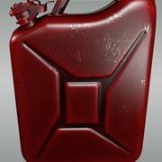 Gaz kutusu 3d model