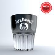 Glas trinken 5 3d model