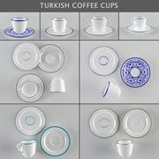 Tazas de café / café turco modelo 3d