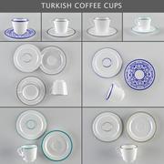 Coffee Cups / Turkish Coffee 3d model
