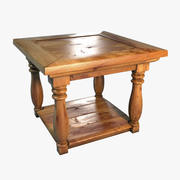Table Wood P75a 3d model