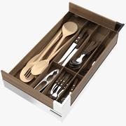 Cajón de cocina modelo 3d