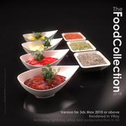 Various spices 3d model