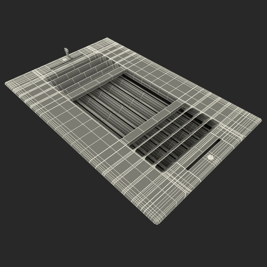 Air Vent 2 royalty-free 3d model - Preview no. 10
