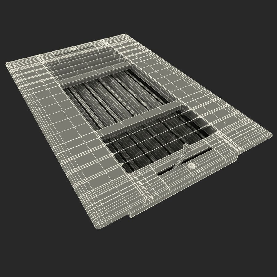 Air Vent 2 royalty-free 3d model - Preview no. 11
