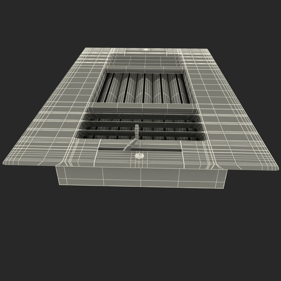 Air Vent 2 royalty-free 3d model - Preview no. 12