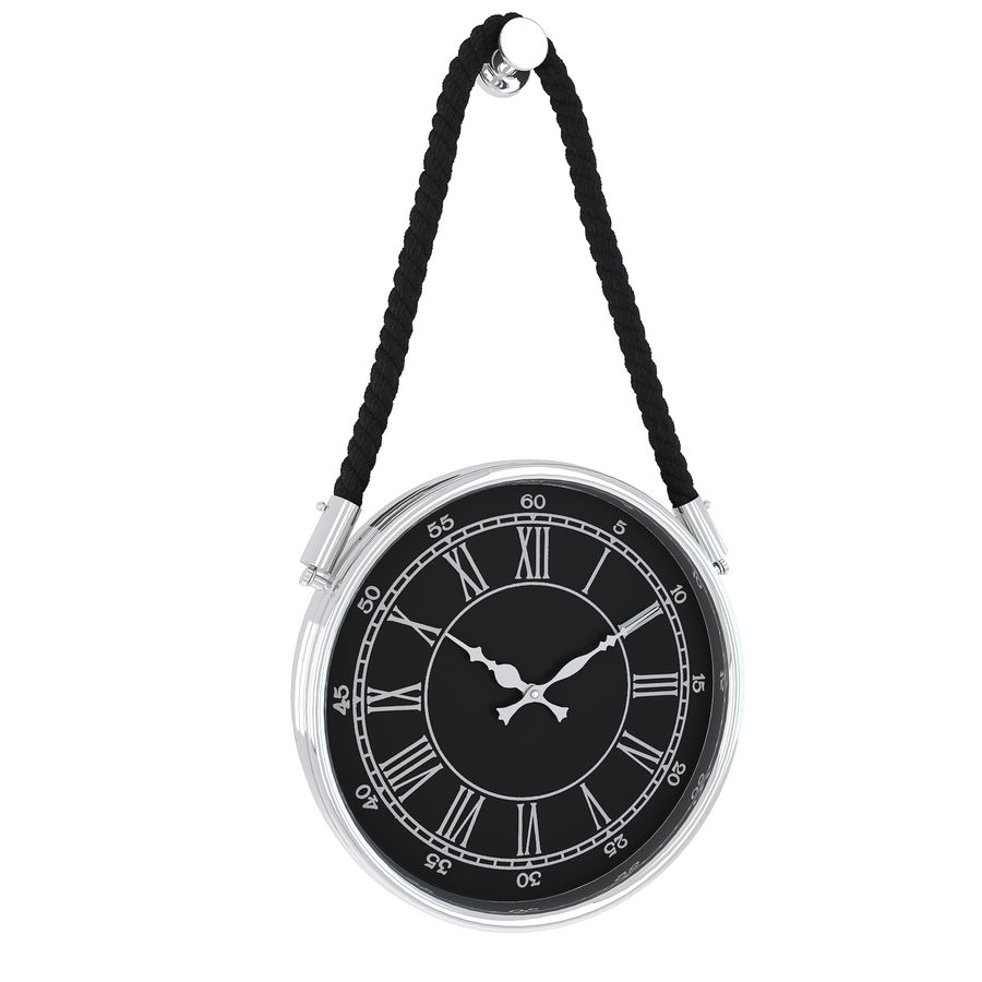 Dillon Rope Wall Clock royalty-free 3d model - Preview no. 3