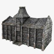 Medieval University 3d model