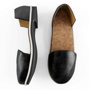 Women Leather Shoes 3d model
