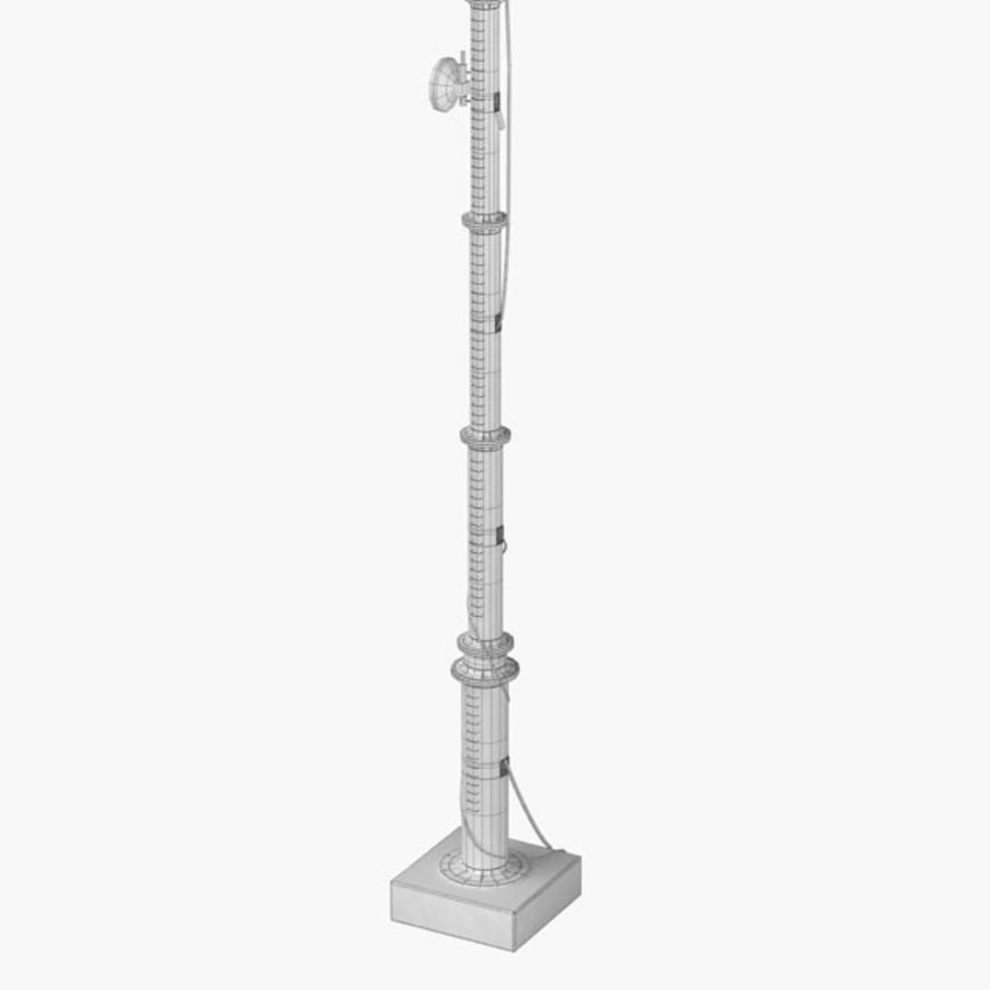 Antenna cellulare royalty-free 3d model - Preview no. 5