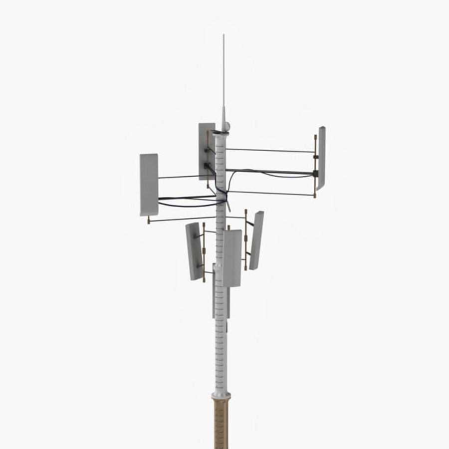 Antenna cellulare royalty-free 3d model - Preview no. 1
