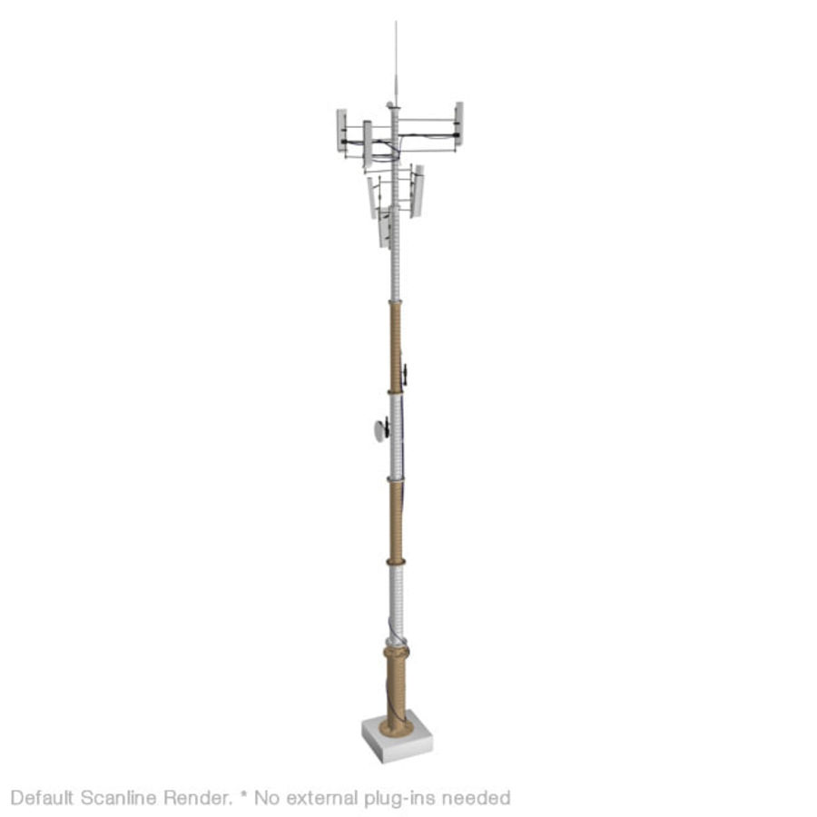 Antenna cellulare royalty-free 3d model - Preview no. 6