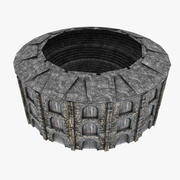 Medeltida Colosseum 3d model
