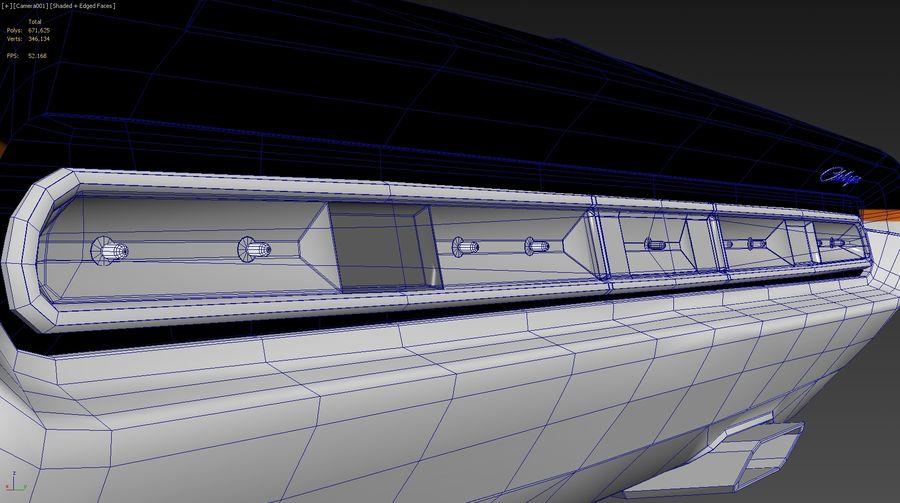 닷지 챌린저 royalty-free 3d model - Preview no. 11