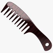 Hair Brush 3 3d model