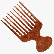 Hair Brush 4 3d model
