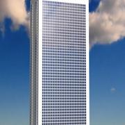 Wolkenkratzer 2 3d model