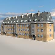 Block Building 01 3d model