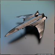 Fighter 3d model