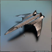Lutador 3d model