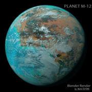 Planet M-12 3d model