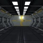 Sci-Fi Corridor Builder MHT-01 3d model