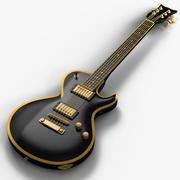 гитара 3d model