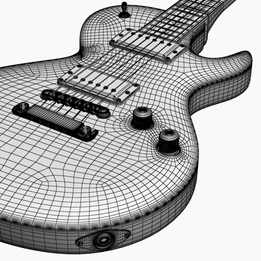 Violão royalty-free 3d model - Preview no. 10