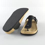 Birkenstock Slipper 3d model