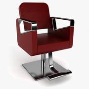 Парикмахерское кресло 2 3d model