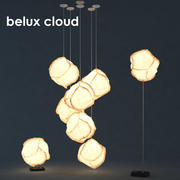 Lampadaire Cloud 3d model