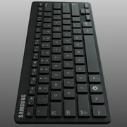 Kabellose Tastatur Samsung 3d model
