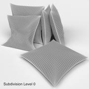 Cuscini Ikea - SVARTTALL 3d model