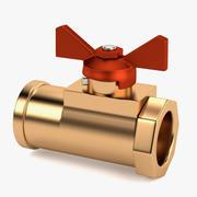 Zawór wodociągowy 4 3d model