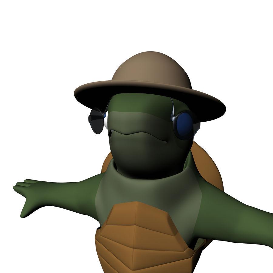 Explorer Turtle royalty-free 3d model - Preview no. 8