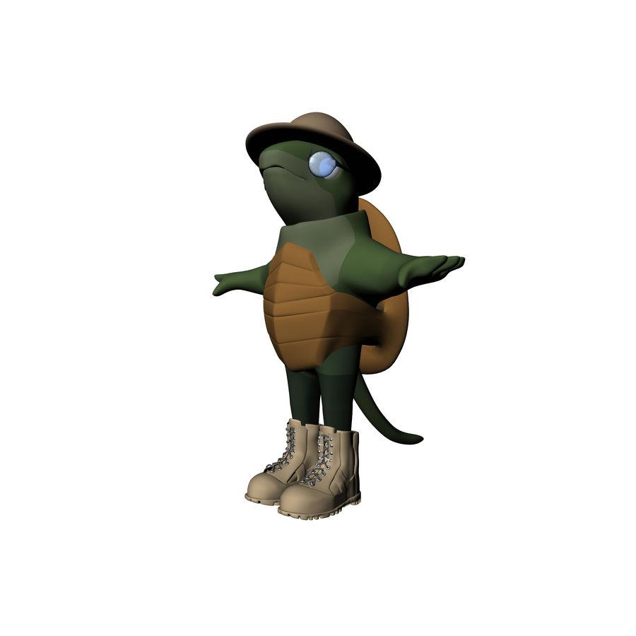 Explorer Turtle royalty-free 3d model - Preview no. 1