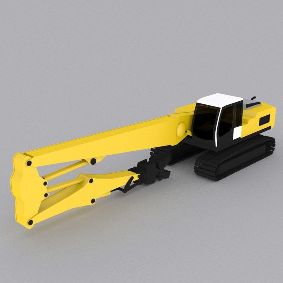 Crawler Excavator R934C royalty-free 3d model - Preview no. 1