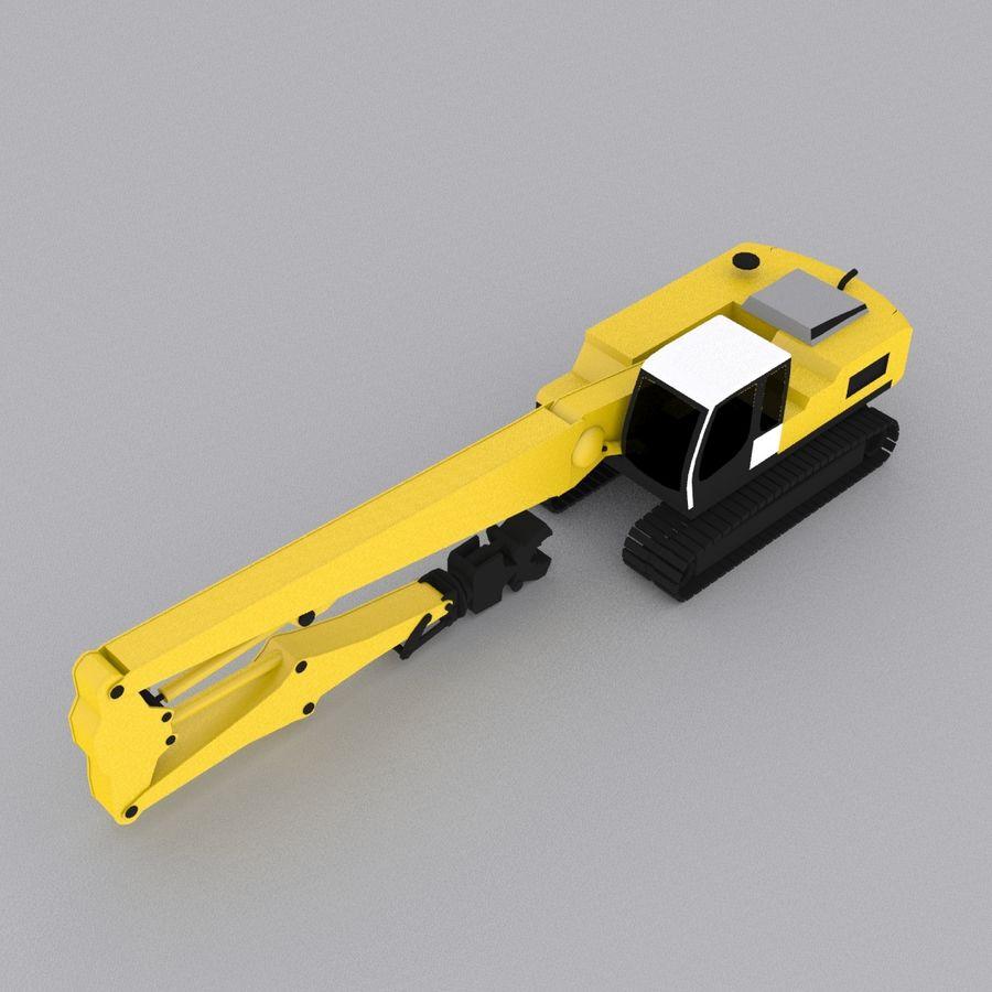Crawler Excavator R934C royalty-free 3d model - Preview no. 4