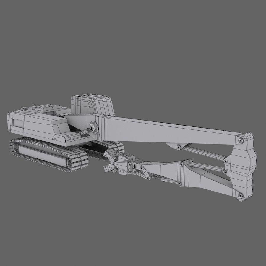 Crawler Excavator R934C royalty-free 3d model - Preview no. 6