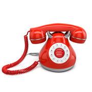 Telefono retrò 3d model