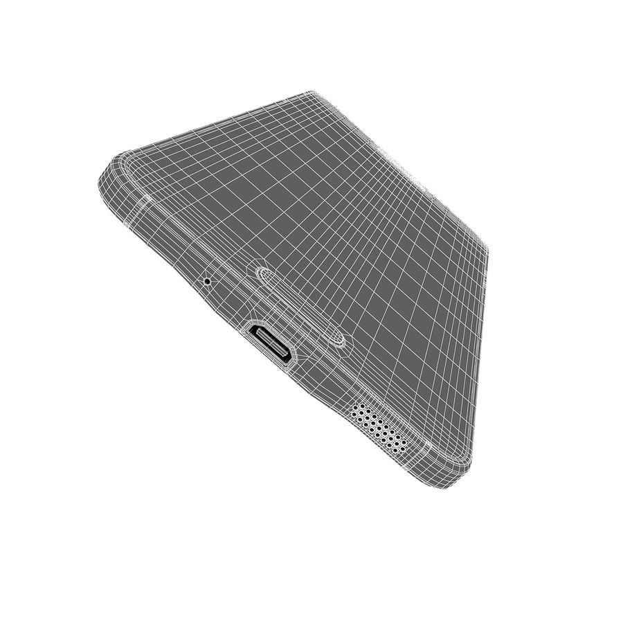 Samsung Galaxy Alpha Smartphone 2014 Wit royalty-free 3d model - Preview no. 14