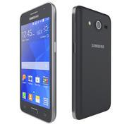 Samsung Galaxy Core 2 nero 3d model