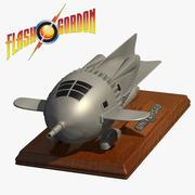 Flash Gordon Rocket Ship 3d model
