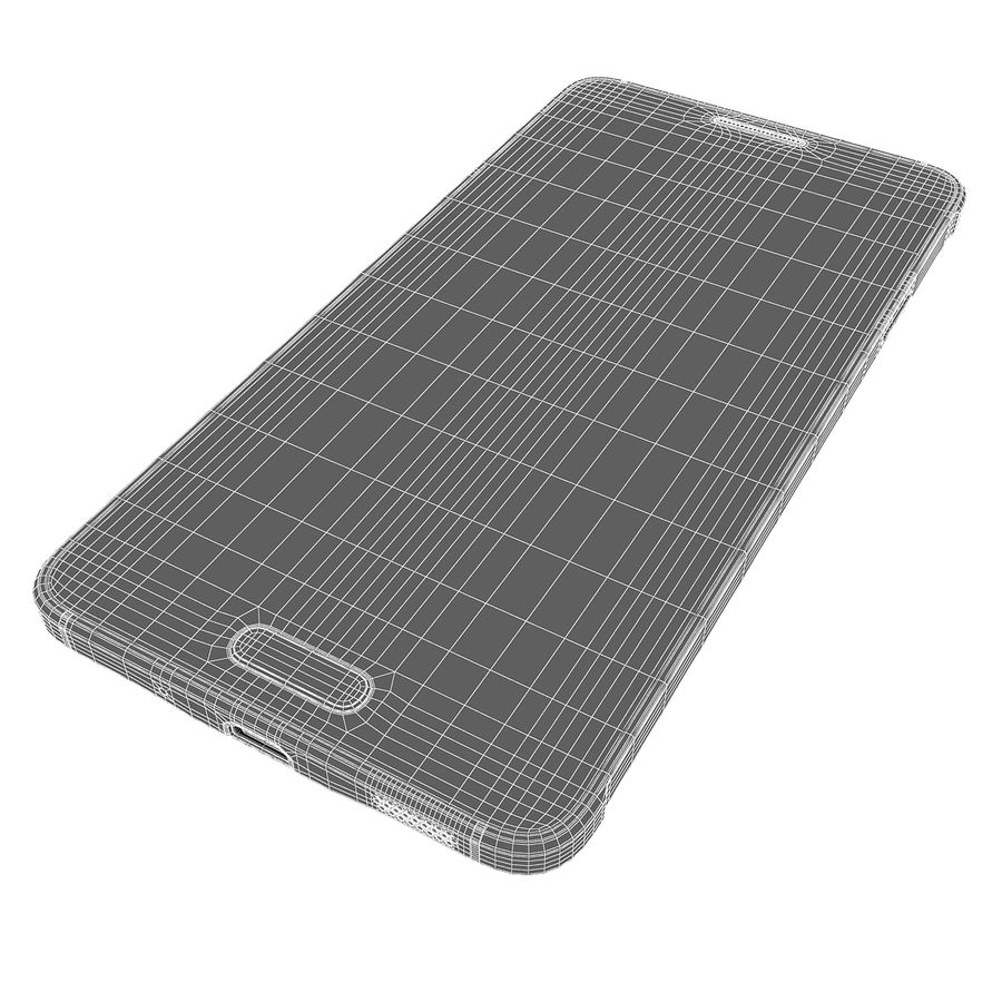 Smartphone Samsung Galaxy Alpha 2014 royalty-free 3d model - Preview no. 13