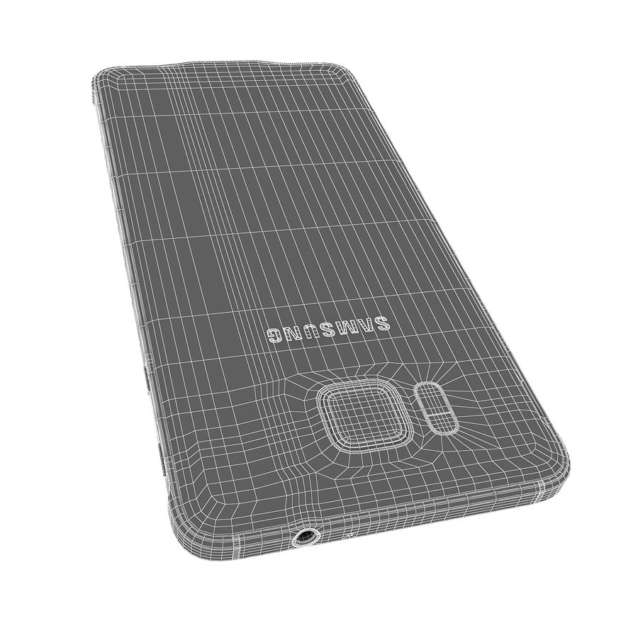 Smartphone Samsung Galaxy Alpha 2014 royalty-free 3d model - Preview no. 17
